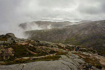 Mist in de bergen van Remco de Zwijger