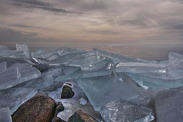 kruiende ijsplaten van FotoBob