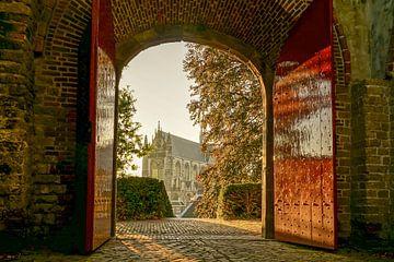 Poort van de Burcht van Leiden van Dirk van Egmond