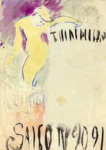 Programm Entwurf für das Théâtre Libre, Edouard Vuillard