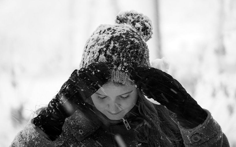Sneeuw van Ineke Klaassen