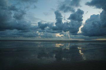 Texels blauw van Geert Jan Klinkhamer