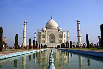 Taj Mahal in Agra, Indien van Katharina Wieland Müller