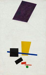 Farbmassen in der 4. Dimension, Kazimir Malevitsj