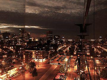Rotterdamse nachten 2 van Marco Versloot