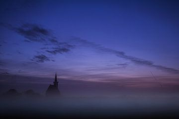 Kirche von Den Hoorn. von AGAMI Photo Agency