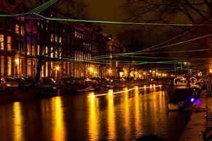Amsterdam Light Festival van Ahilya Elbers