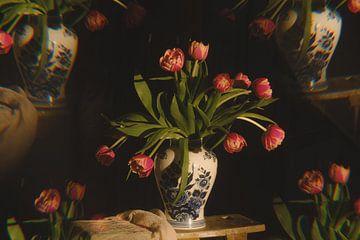 Tulpen im Kaleidoskop von Gonnie van Roij