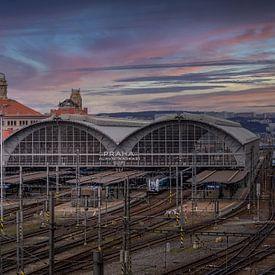 Praag Centraal Station van Dennis Donders