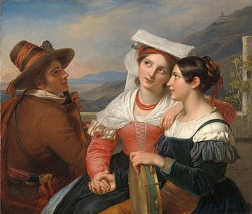 Eines Herzens, Cornelis Kruseman