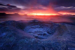 Hverir, IJsland van