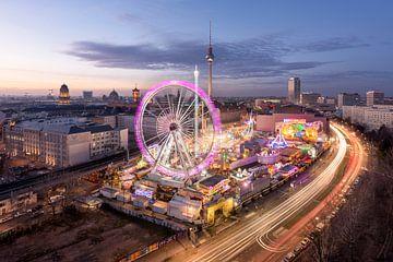Berlijnse kerstmarkt van Stefan Schäfer
