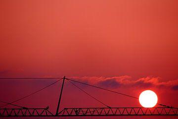 Sonnenaufgang van Heike Hultsch