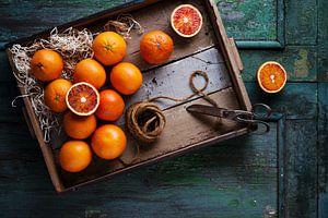 Bloedsinaasappels van Iwan Bronkhorst