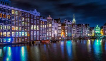 Damrak Amsterdam van Dennis Donders