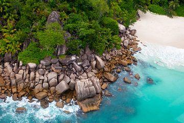 Strand auf den Seychellen von Dirk Rüter