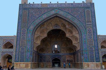 Iran: Vrijdagmoskee van Isfahan (Isfahan) van Maarten Verhees