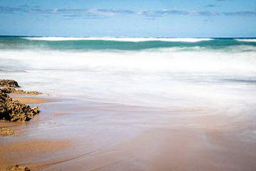 long exposure beach van Ineke Huizing