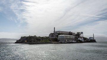 Uitzicht op Alcatraz Eiland, San Fransisco, Californie van de Roos Fotografie