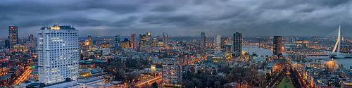 Rotterdam skyline, panorama