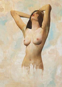 Erotisch naakt - Naakt in een staat van ontspanning van Jan Keteleer