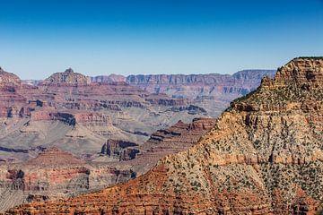 De Grand Canyon - Arizona van Martijn Bravenboer