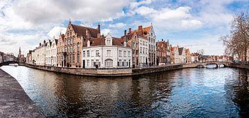 Brugge Panorama - België van Thijs van Beusekom
