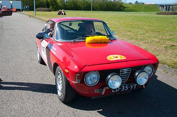 Alfa GTA rood van Arthur Wijnen