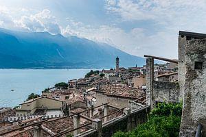 Panorama van Limone sul Garda, Gardameer