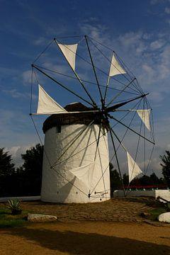 Windmühle Irini Mykonos im Mühlenmuseum von Christiane Schulze