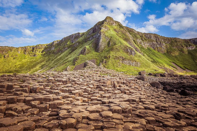 Giant's Causeway in Ierland van Marcel Krol