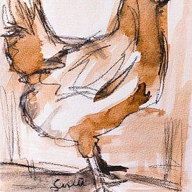 Kip, haantje (II) van Liesbeth Serlie