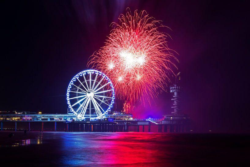 Das International Fireworks Festival Scheveningen von Anton de Zeeuw