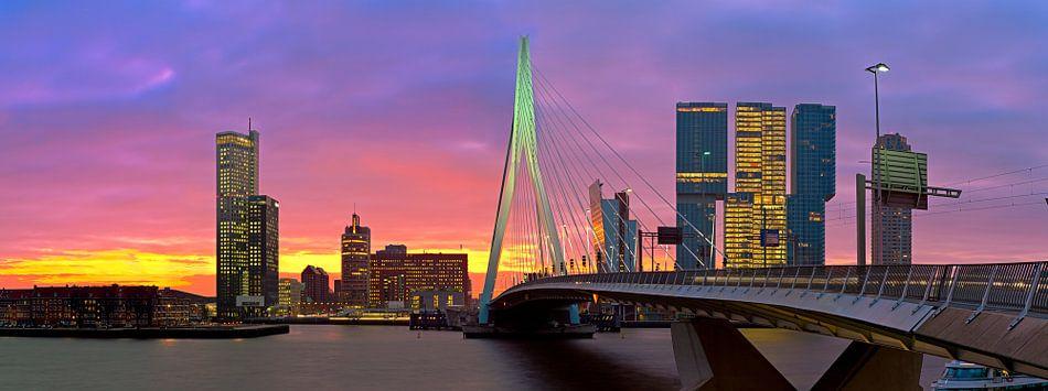 Rotterdam in vuur en vlam