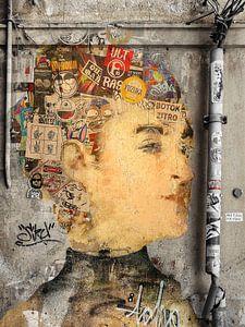 Mademoiselle Isabelle binnen de muur van Gabi Hampe