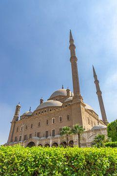 Moskee van Mohammed Ali in Caïro (Egypte) van Jessica Lokker
