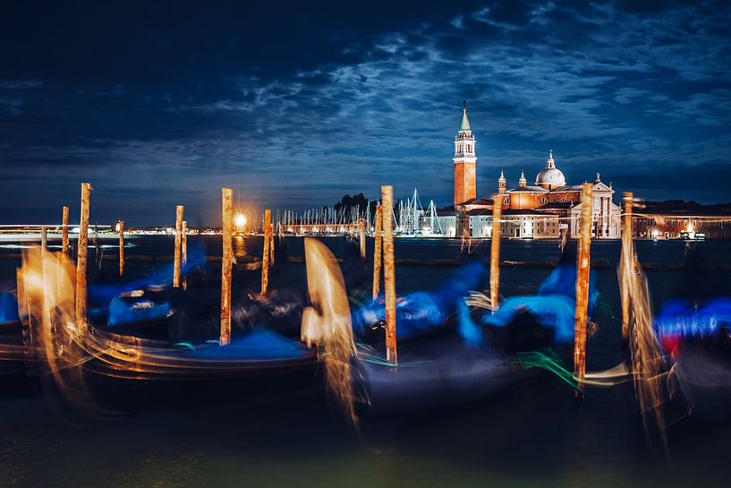 Venice at Night van Alexander Voss
