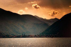 Zomerse tinten op het lago maggiore van