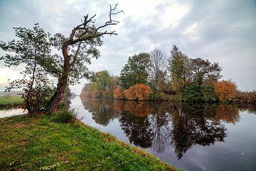Herfst - Autumn in de polder van Leek Groningen van R Smallenbroek