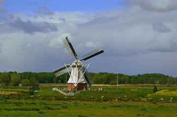 Holländische Windmühle / Holländische Windmühle von Joyce Derksen