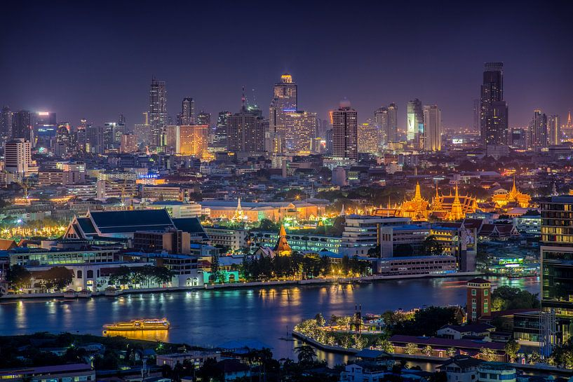 Bangkok by night van Jelle Dobma