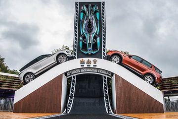 Land Rover Stand GoodWood Festival de la vitesse sur Bas Fransen