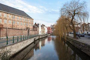 Leie in het hartje van Gent