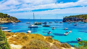 De baai en de stranden van Mallorca van Mustafa Kurnaz