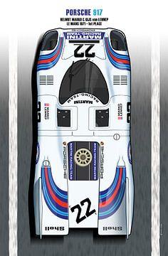 917 Martini, Dr Helmut Marko, Gijs Van Lennep van Theodor Decker