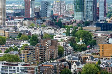 skyline Rotterdam I van Mister Moret Photography