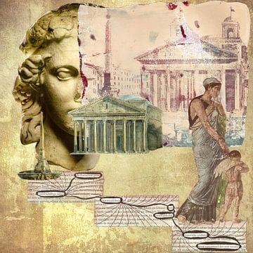 de Romeinse geest van
