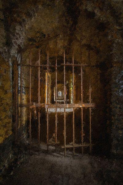 Verlassenes Gefängnis in Belgien von Digitale Schilderijen