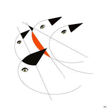Vögel von Martin Groenhout