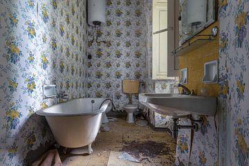 Verlaten badkamer in verval van Kristof Ven